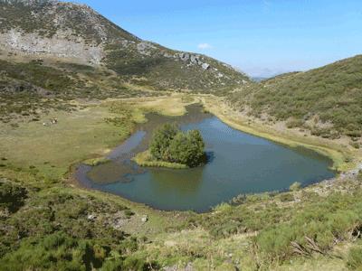 Laguna del Chao, Riolago.