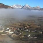 Riolago, levantándose la niebla