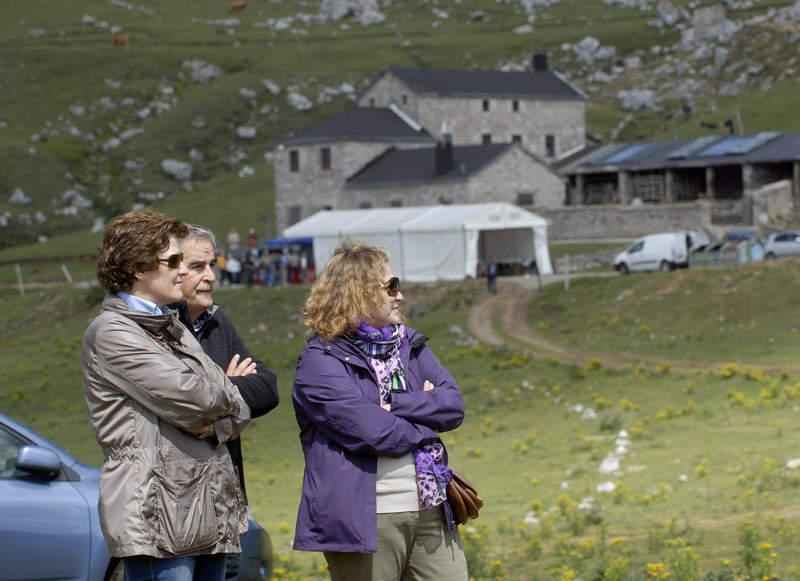 Directora General de Ganadería Asturias en Babia