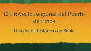 Proyecto Regional del Puerto de Pinos: Las razones para expropiar al Ayuntamiento de Mieres
