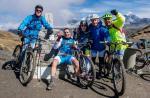 Babia entrena para controlarla diabetes con el ciclismo de la mano de Elías Delgado